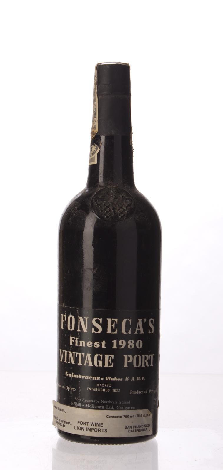 Fonseca Vintage Port 1980, 750mL () from The BPW - Merchants of rare and fine wines.