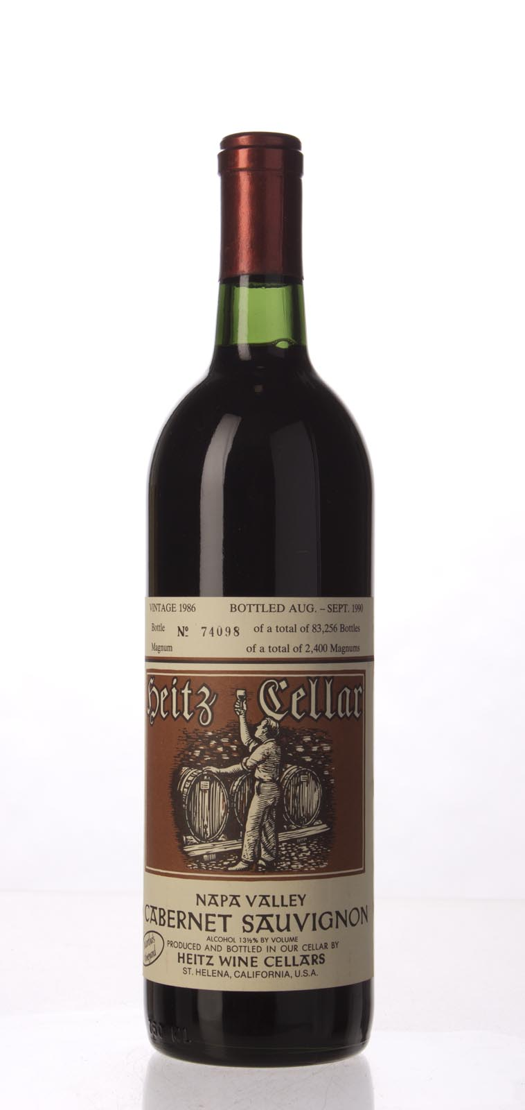Heitz Cabernet Sauvignon Martha`s Vineyard 1986, 750mL (WS95) from The BPW - Merchants of rare and fine wines.