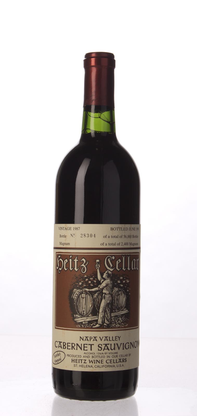 Heitz Cabernet Sauvignon Martha`s Vineyard 1987, 750mL (WS95) from The BPW - Merchants of rare and fine wines.