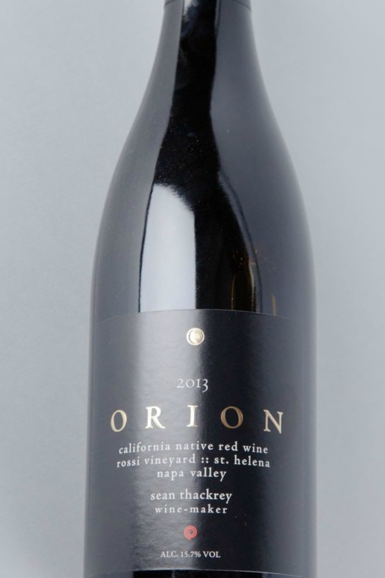 Sean Thackrey Syrah Orion Rossi Vineyard 2014,  () from The BPW - Merchants of rare and fine wines.