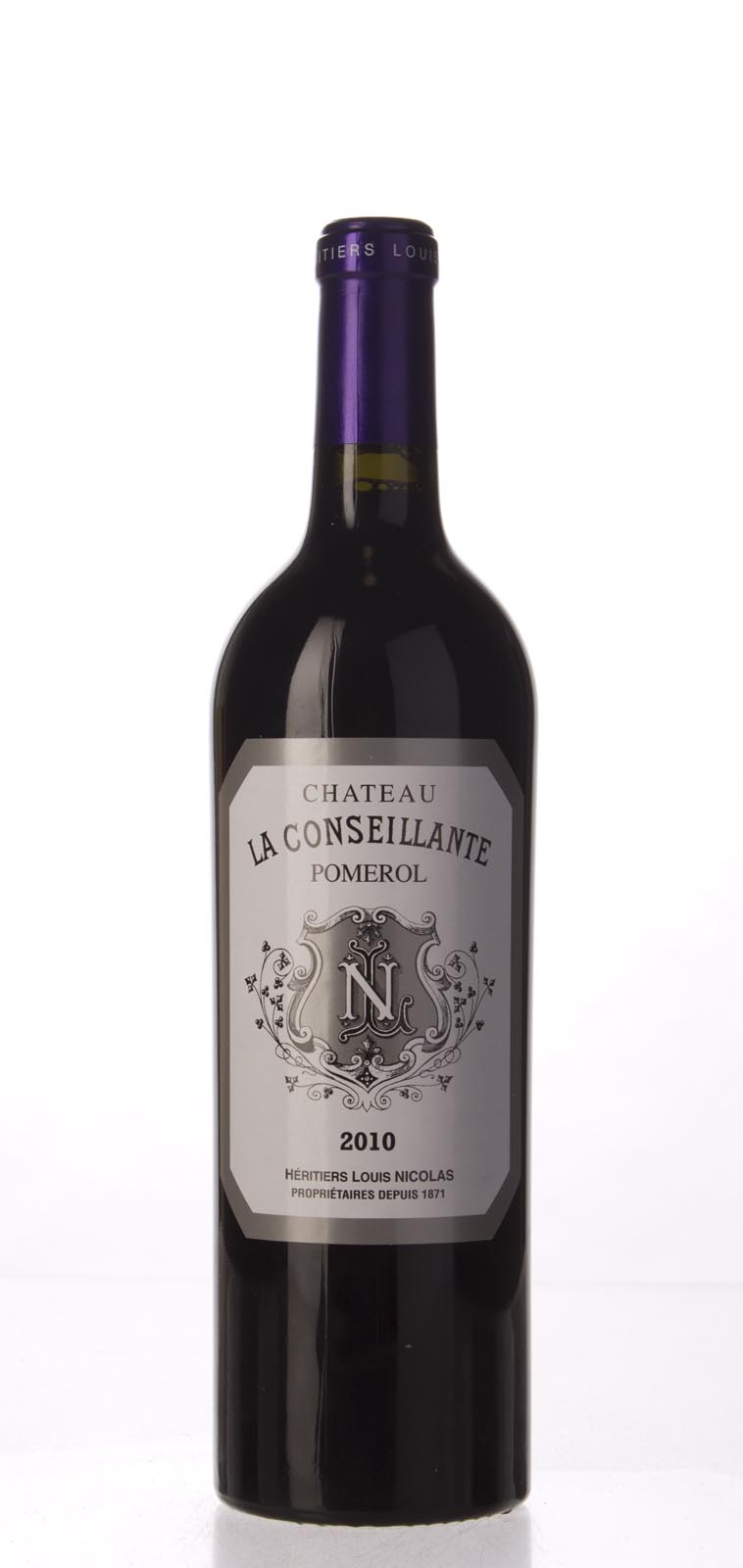 La Conseillante 2010, 750mL (JS98, WA96, WS96) from The BPW - Merchants of rare and fine wines.