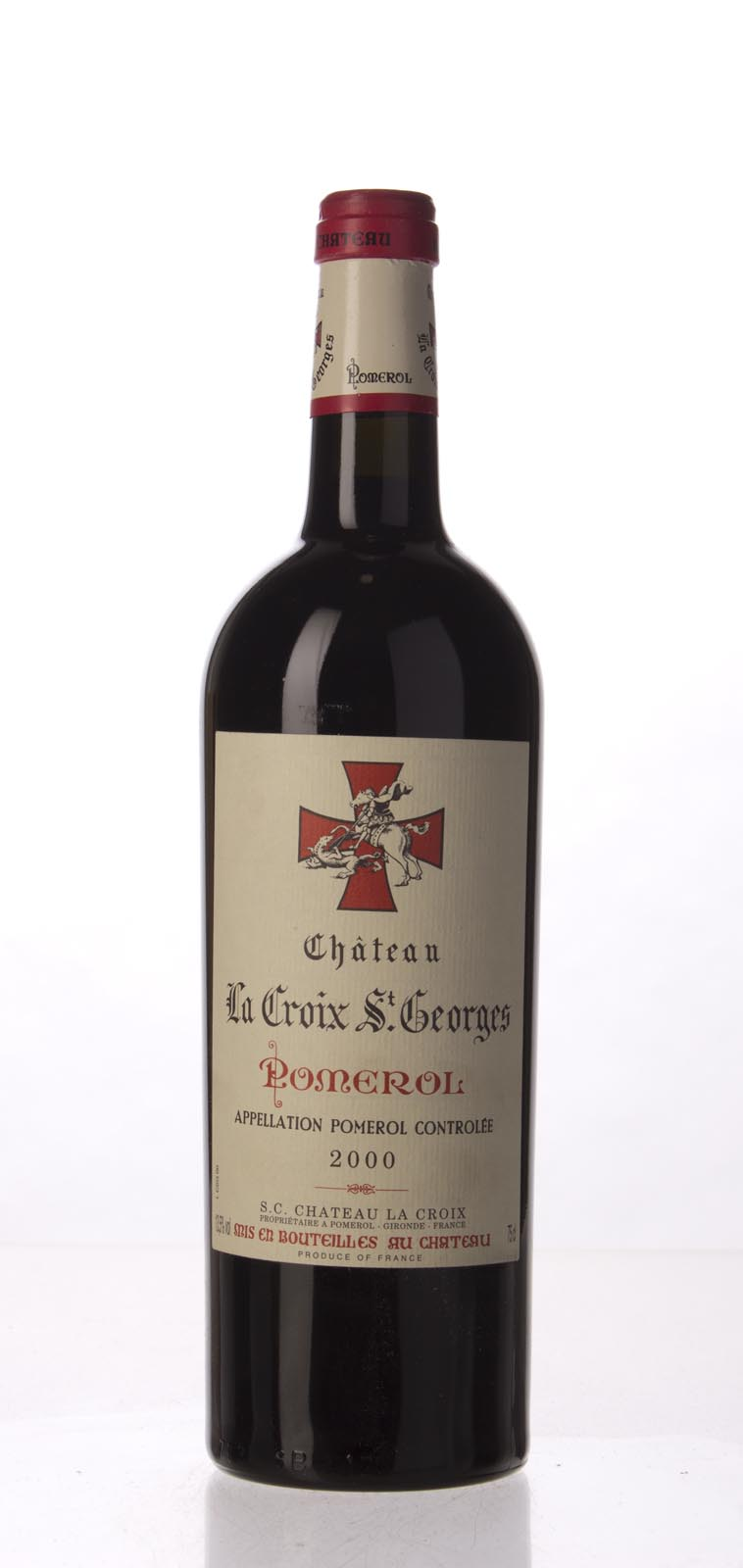 La Croix Saint Georges 2000, 750mL (WA95) from The BPW - Merchants of rare and fine wines.