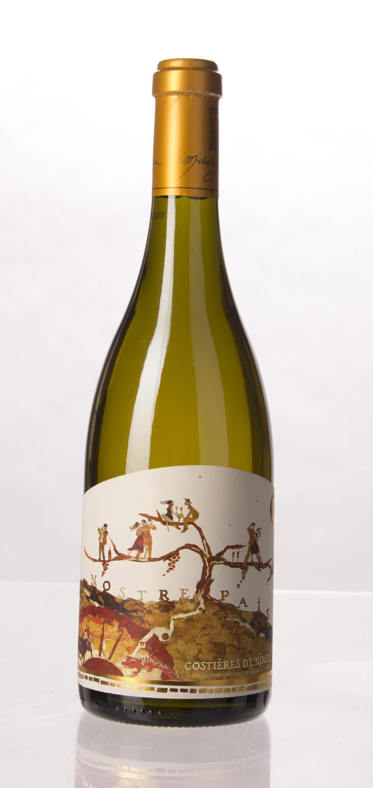 Michel Gassier Costieres de Nimes Blanc 2010,  () from The BPW - Merchants of rare and fine wines.