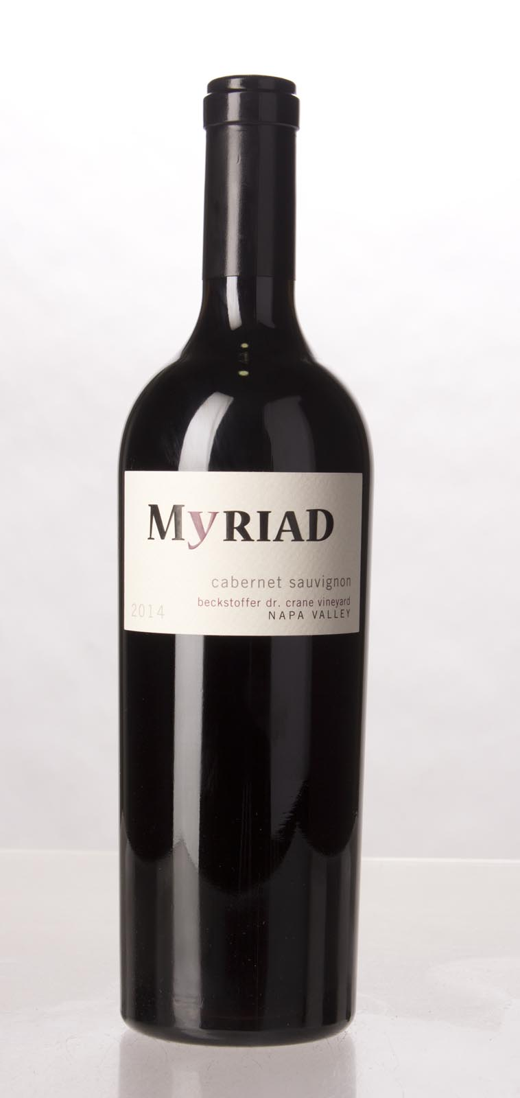 Myriad Cellars Cabernet Sauvignon Beckstoffer Dr. Crane Vineyard 2014, 750mL (WA94-96) from The BPW - Merchants of rare and fine wines.