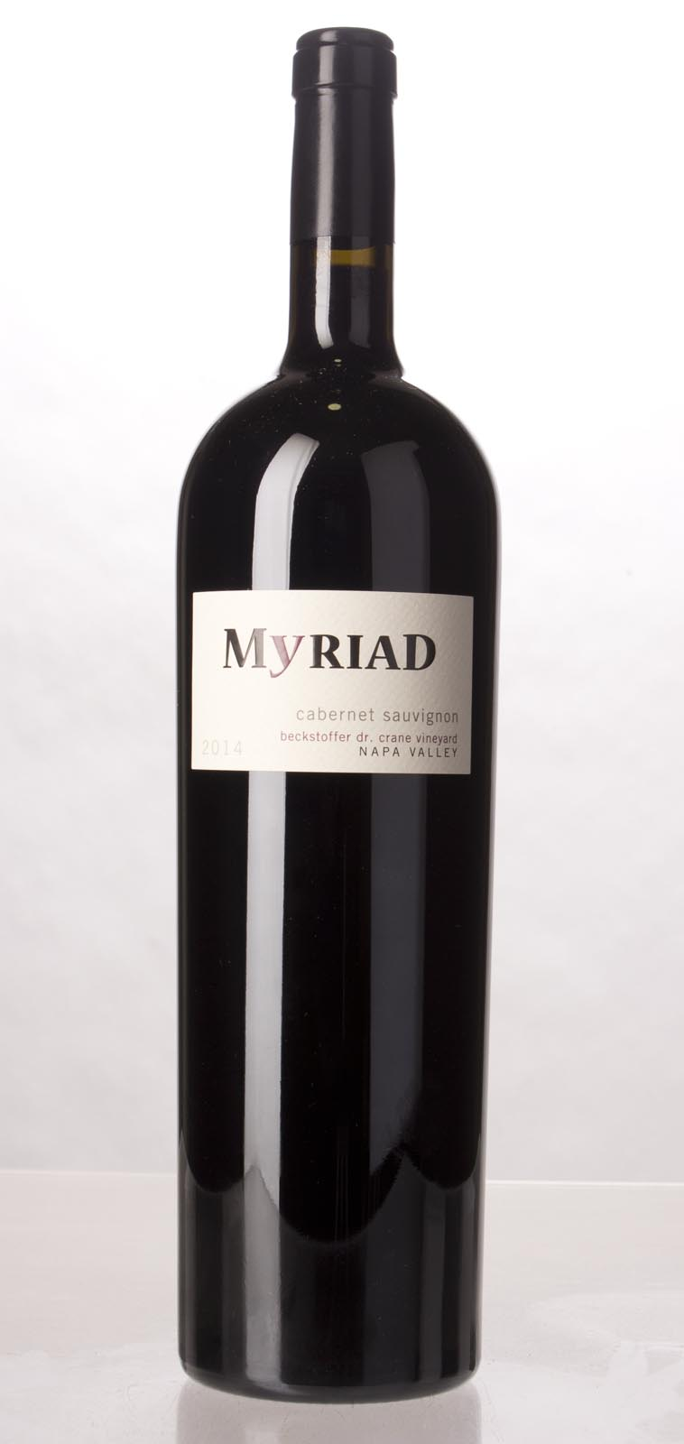 Myriad Cellars Cabernet Sauvignon Beckstoffer Dr. Crane Vineyard 2014, 1.5L (WA94-96) from The BPW - Merchants of rare and fine wines.