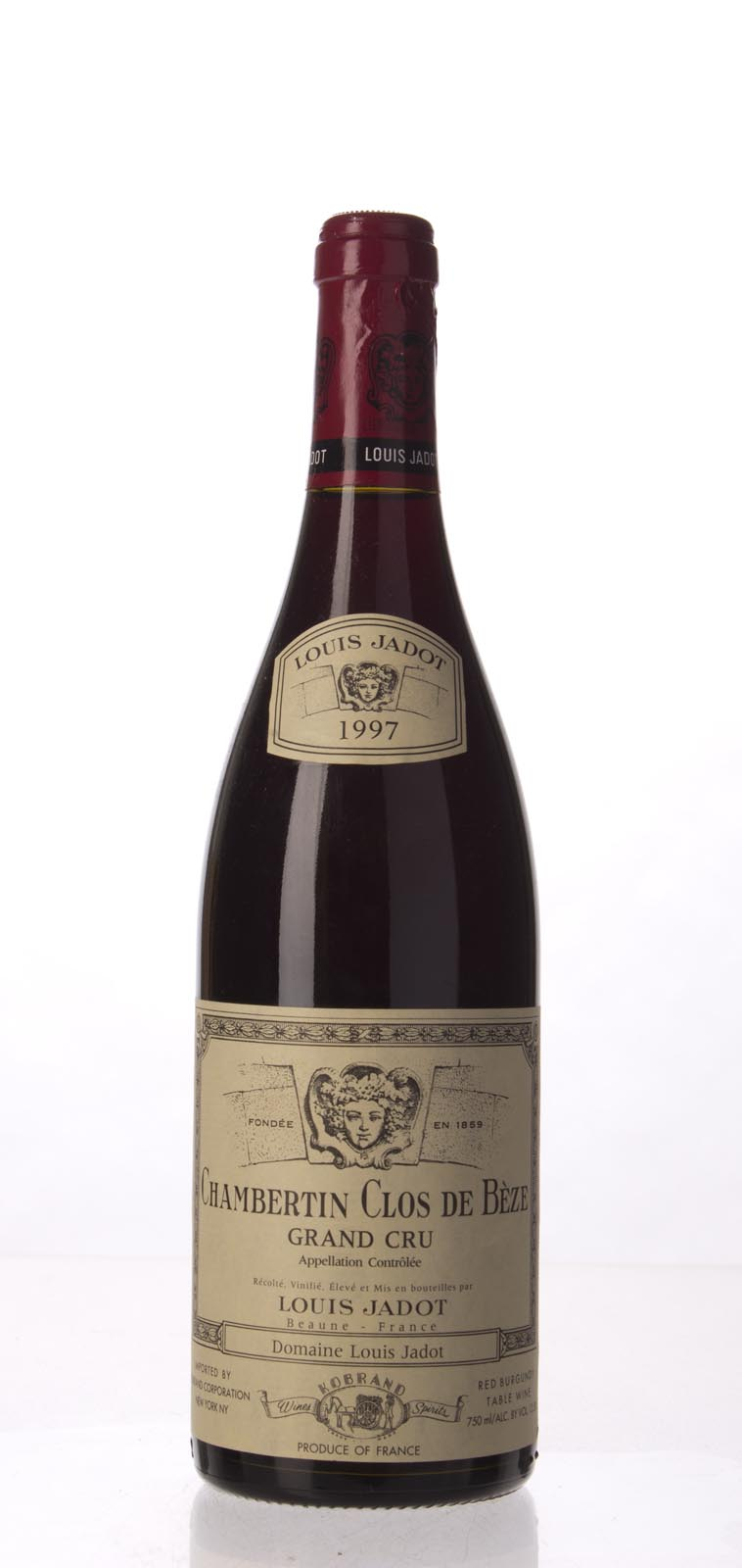Louis Jadot Chambertin Clos de Beze 1997, 750mL (WA94-96, ST94) from The BPW - Merchants of rare and fine wines.