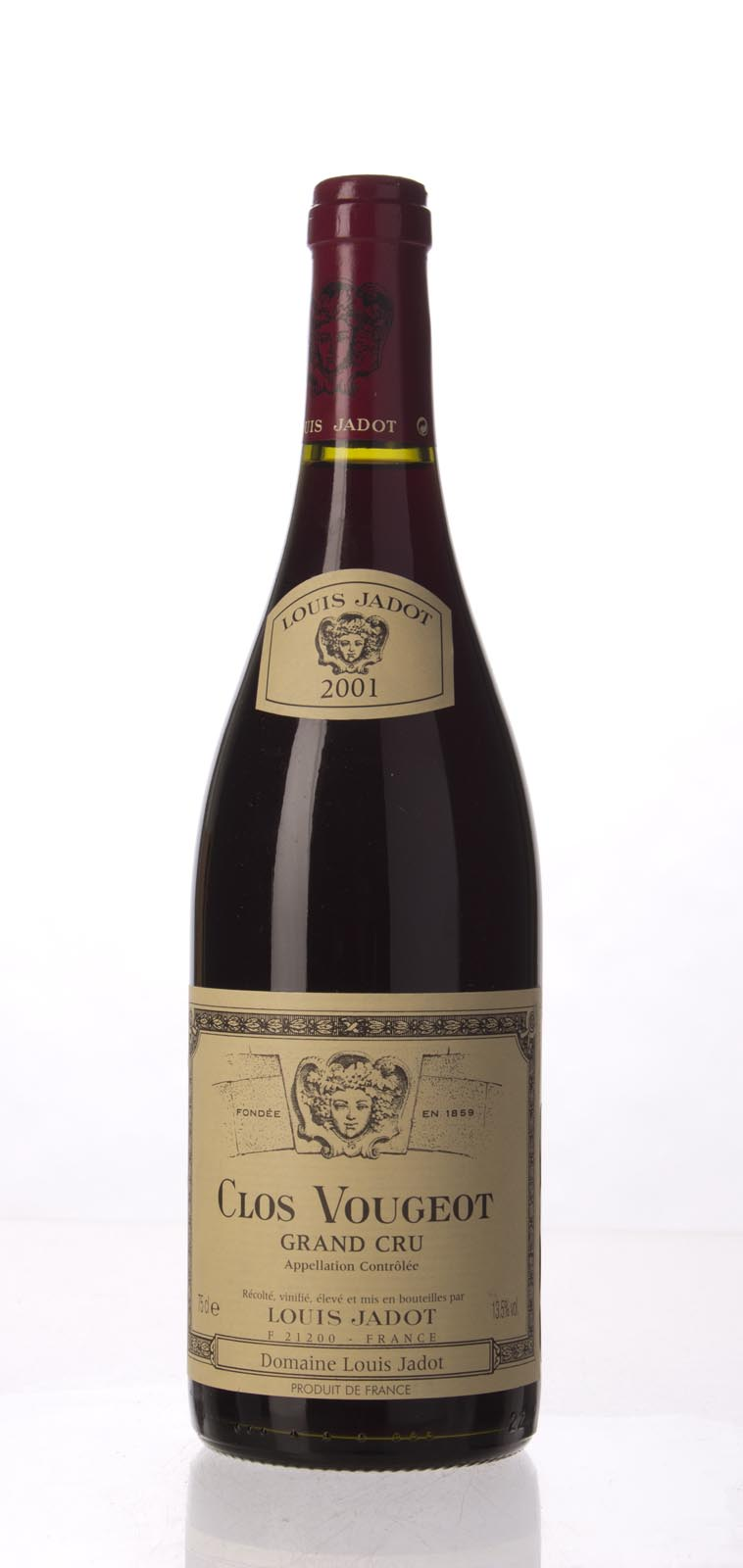 Louis Jadot Clos Vougeot 2001, 750mL () from The BPW - Merchants of rare and fine wines.