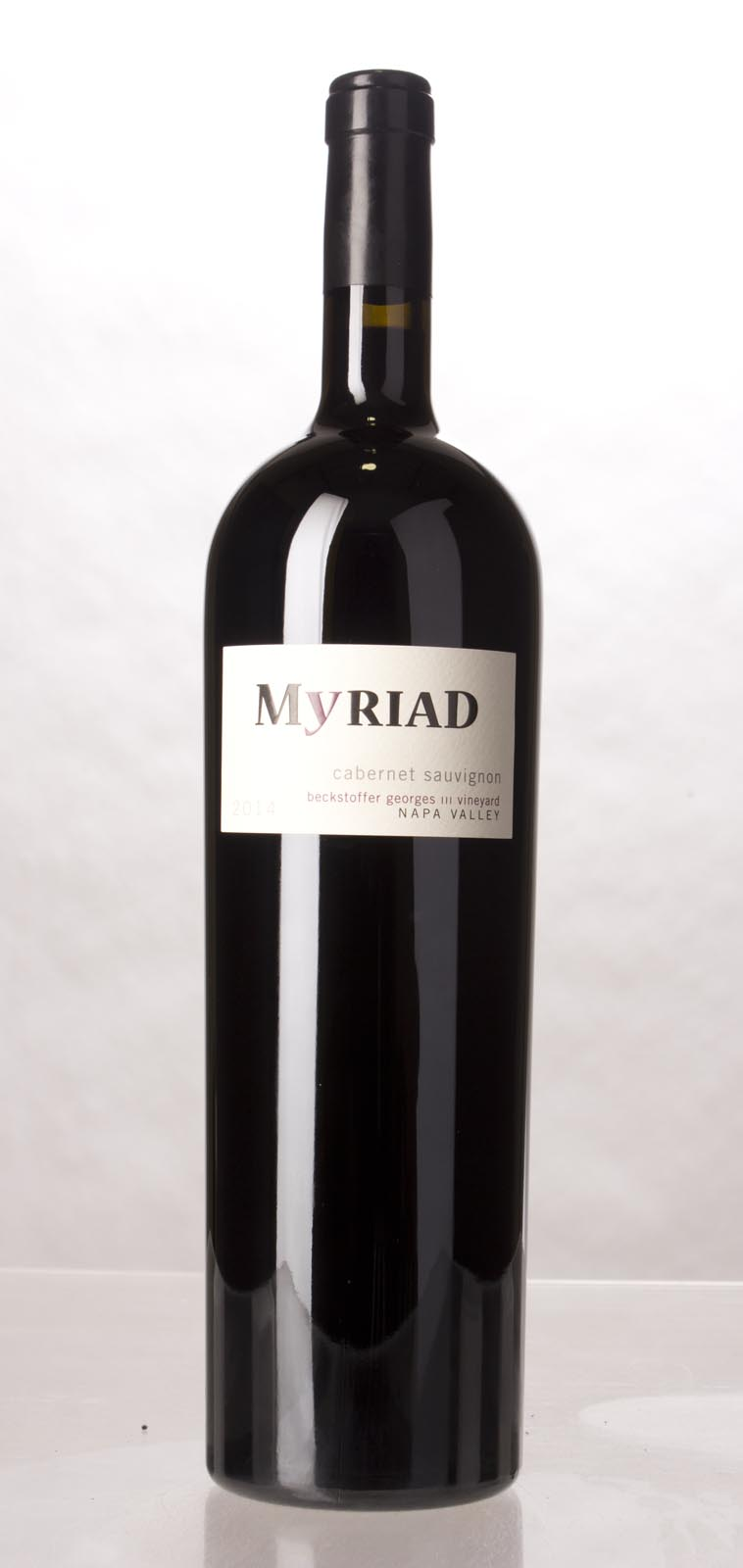 Myriad Cellars Cabernet Sauvignon Georges III 2014, 1.5L (WA94-96) from The BPW - Merchants of rare and fine wines.