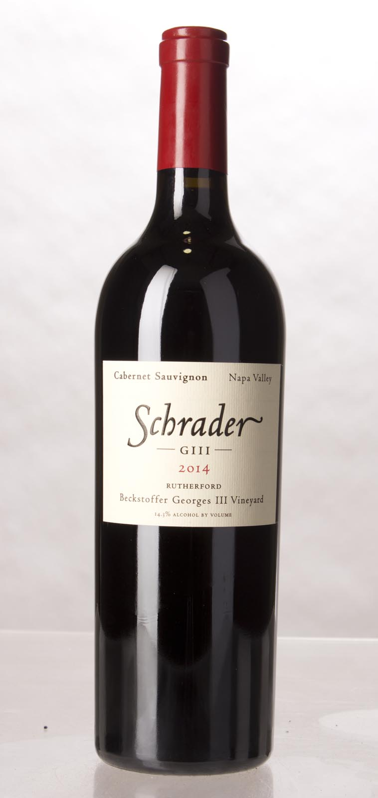 Schrader Cellars Cabernet Sauvignon Beckstoffer George III Vineyard 2014,  (JS97, WA95-97) from The BPW - Merchants of rare and fine wines.