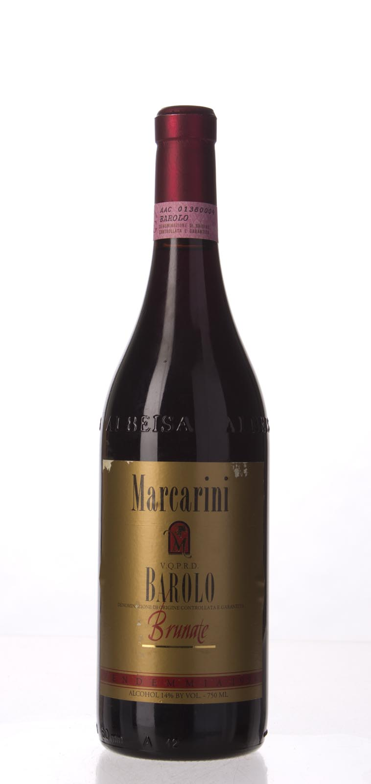 Marcarini Barolo Brunate 1990,  (WA90, WS91) from The BPW - Merchants of rare and fine wines.