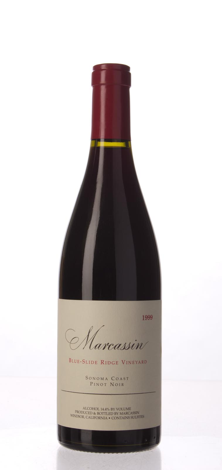 Marcassin Pinot Noir Blue Slide Ridge 1999, 750mL (WA98) from The BPW - Merchants of rare and fine wines.