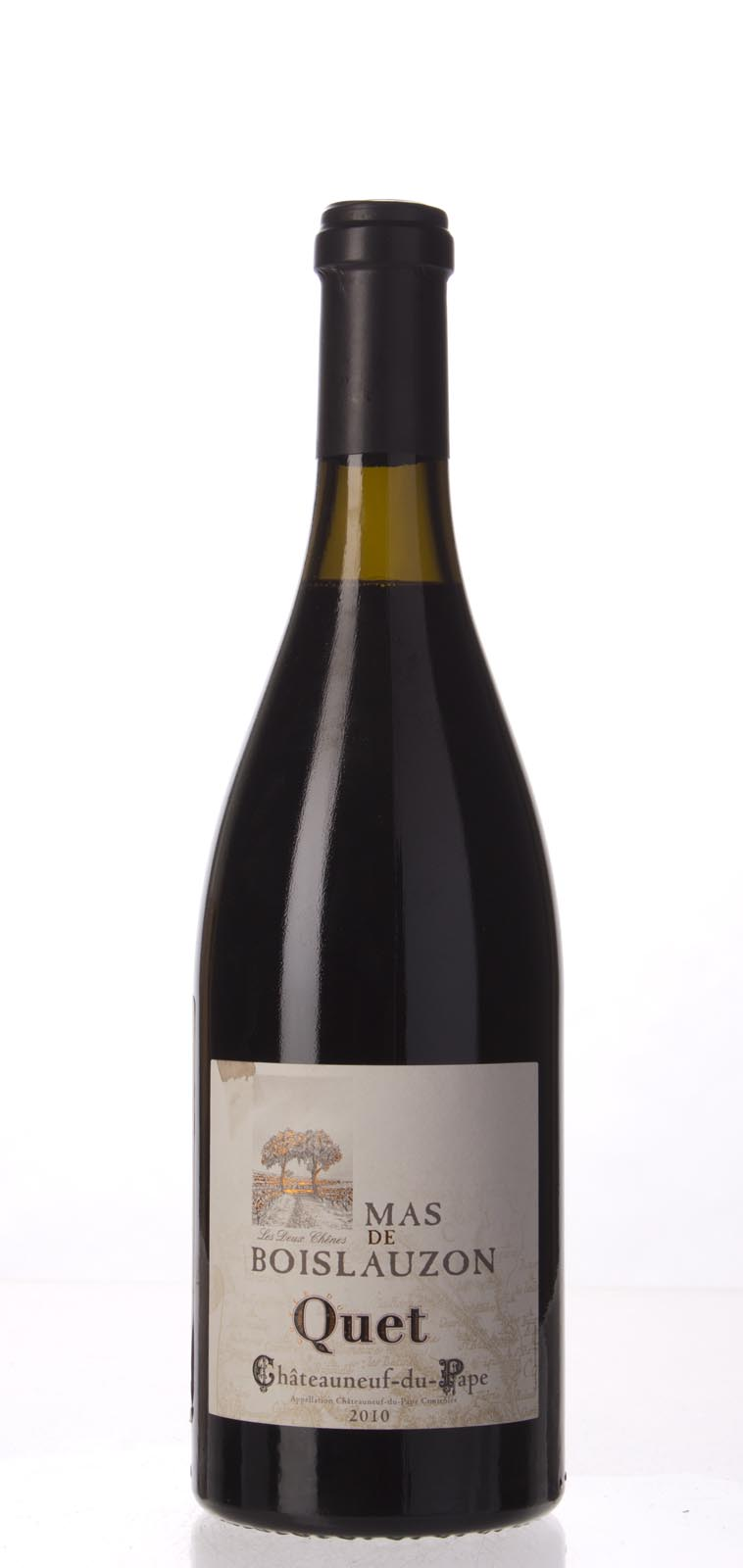 Mas de Boislauzon Chateauneuf du Pape Cuvee du Quet 2010, 750mL (WA100) from The BPW - Merchants of rare and fine wines.
