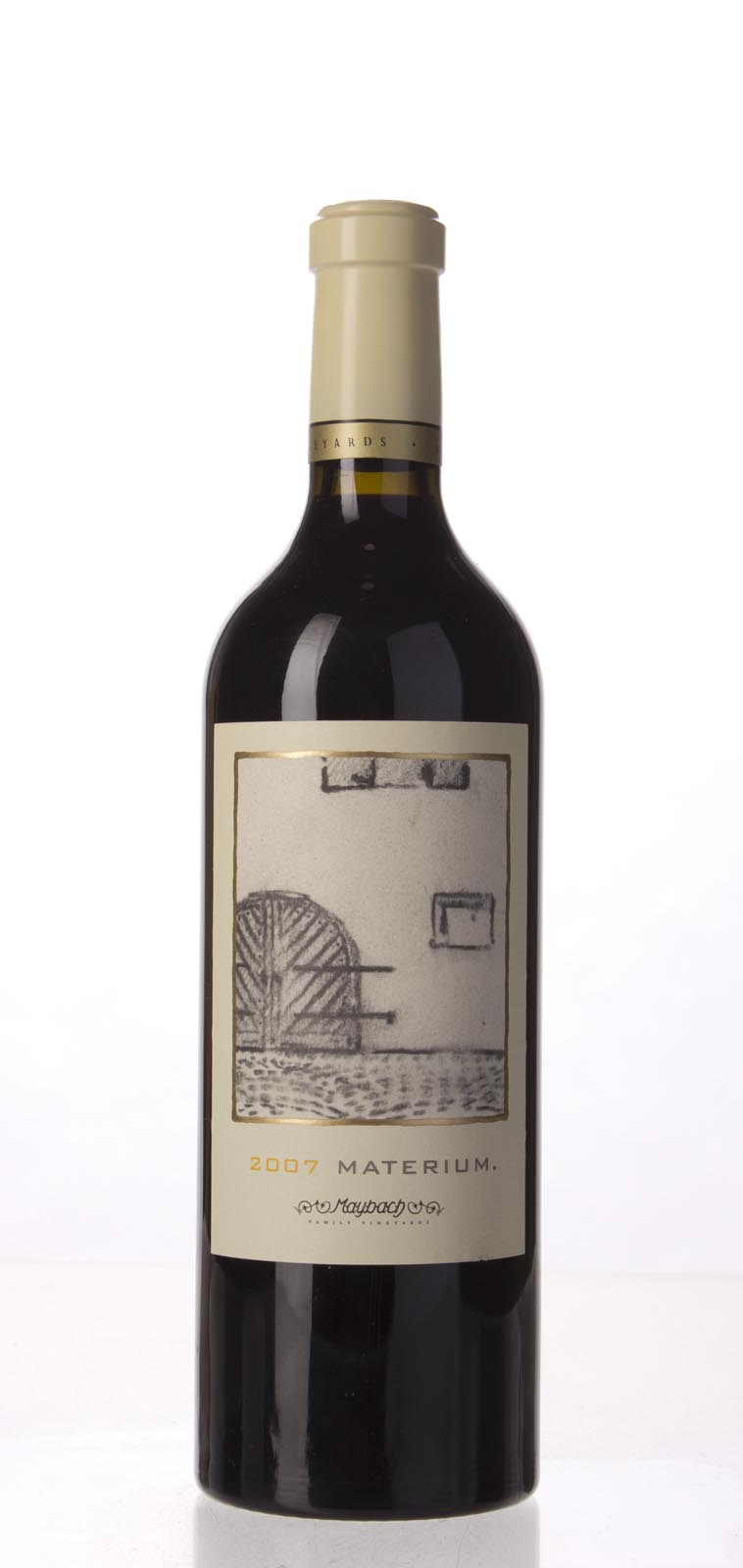 Maybach Family Vineyards Cabernet Sauvignon Materium 2007, 750mL (WA99, WS98) from The BPW - Merchants of rare and fine wines.