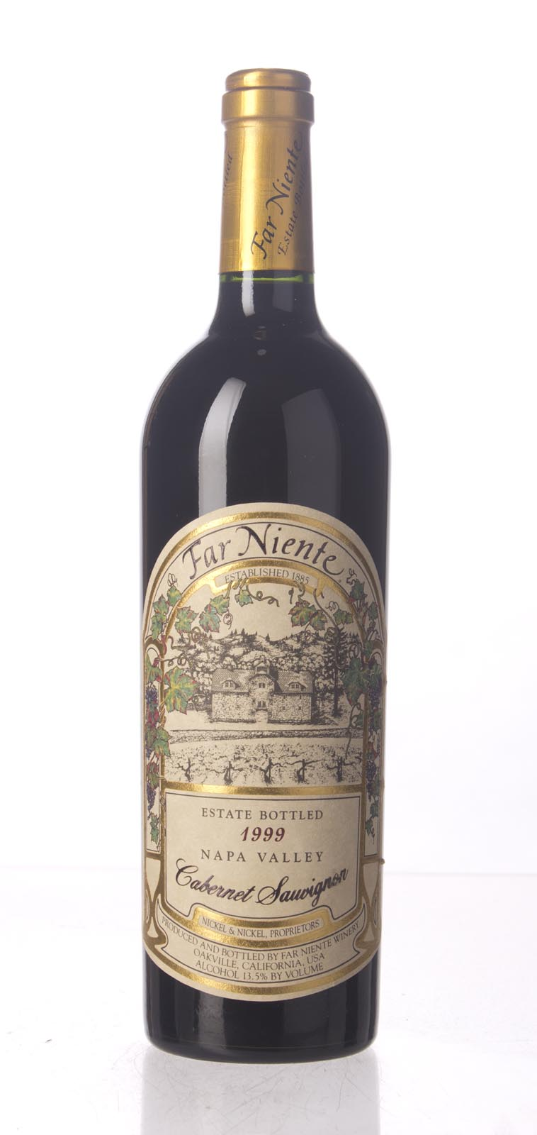 Far Niente Cabernet Sauvignon 1999, 750mL () from The BPW - Merchants of rare and fine wines.