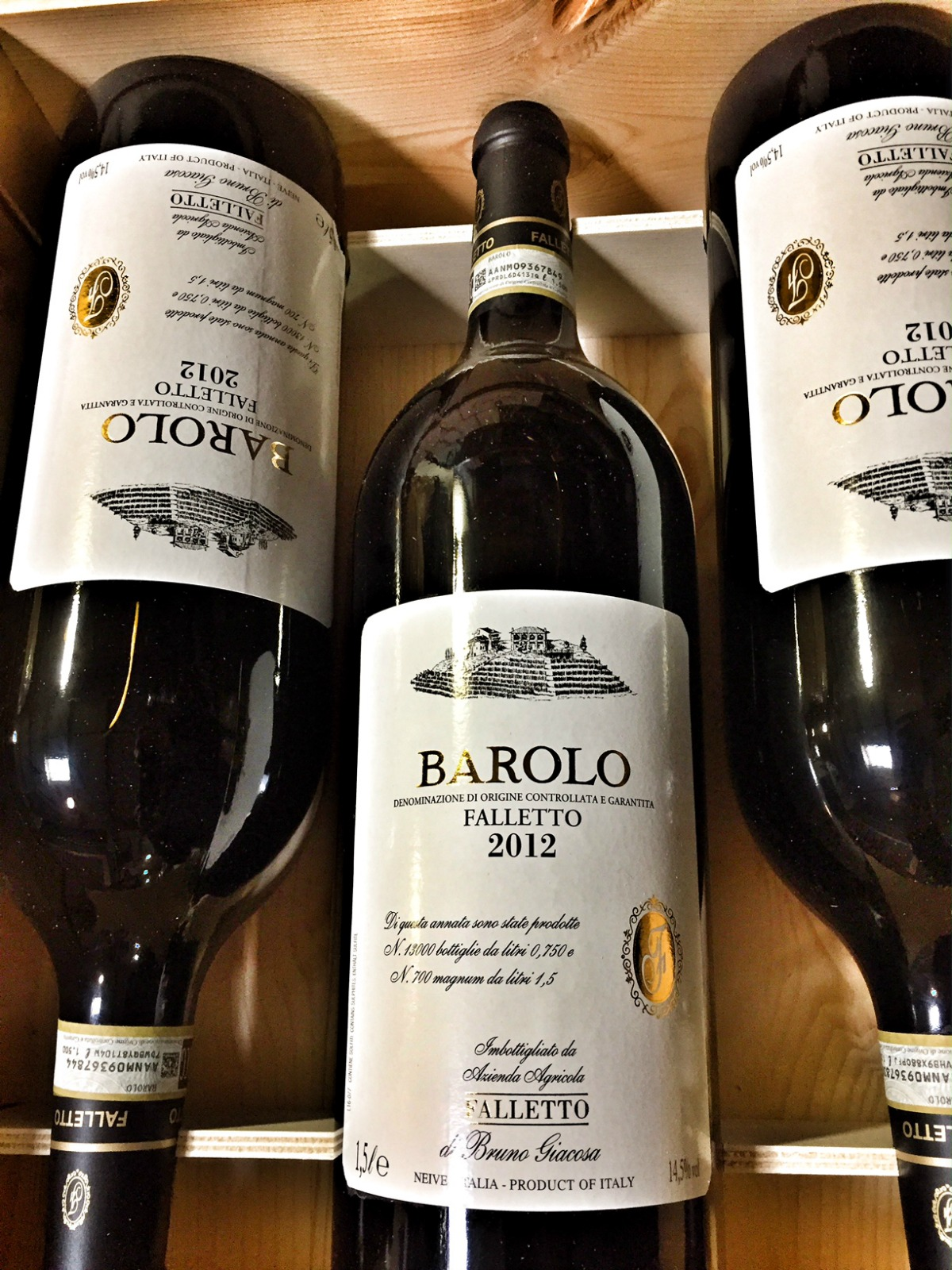 Bruno Giacosa Barolo Falletto 2012, 1.5L (JS97) from The BPW - Merchants of rare and fine wines.