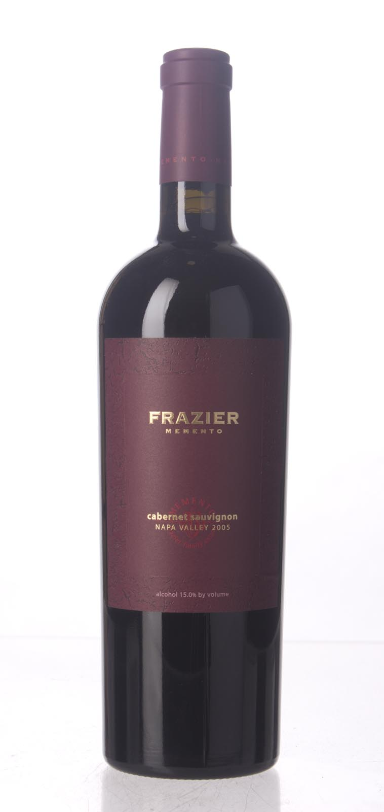 Frazier Cabernet Sauvignon Memento 2005, 750mL () from The BPW - Merchants of rare and fine wines.