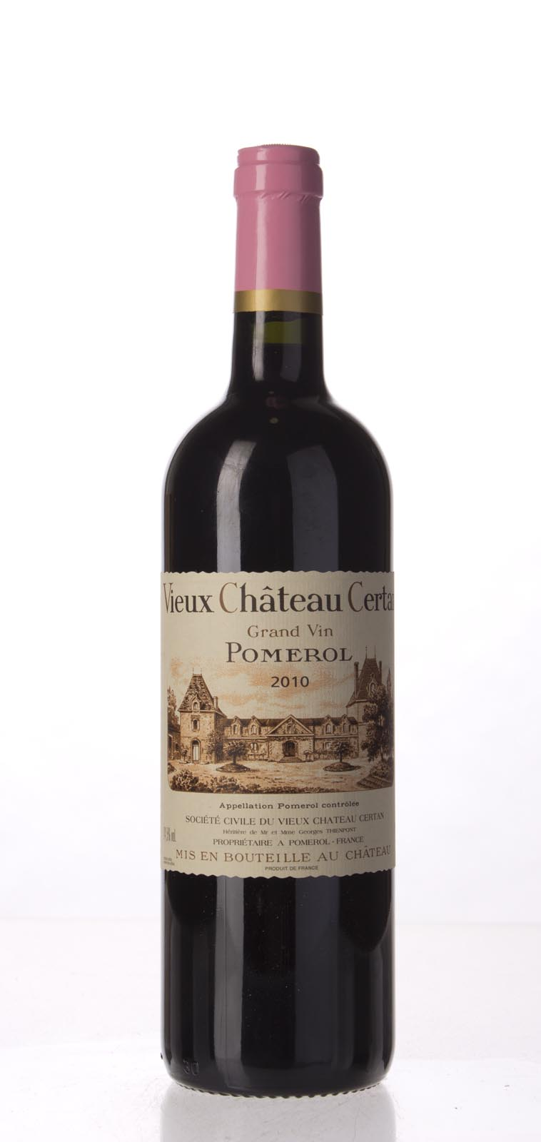 Vieux Chateau Certan 2010, 750mL (JS100, WA99, WS98) from The BPW - Merchants of rare and fine wines.