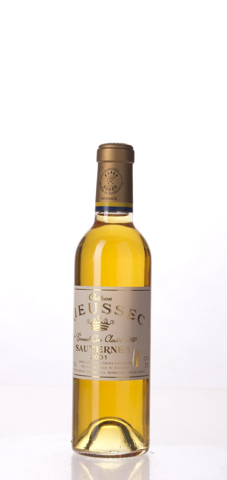 Rieussec 2001, 375ml (WA99, WS100) from The BPW - Merchants of rare and fine wines.