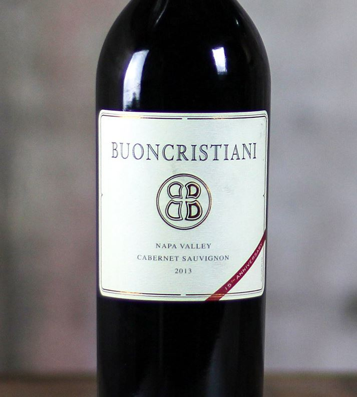 Buoncristiani Cabernet Sauvignon Napa Valley 2014,  (WA96) from The BPW - Merchants of rare and fine wines.