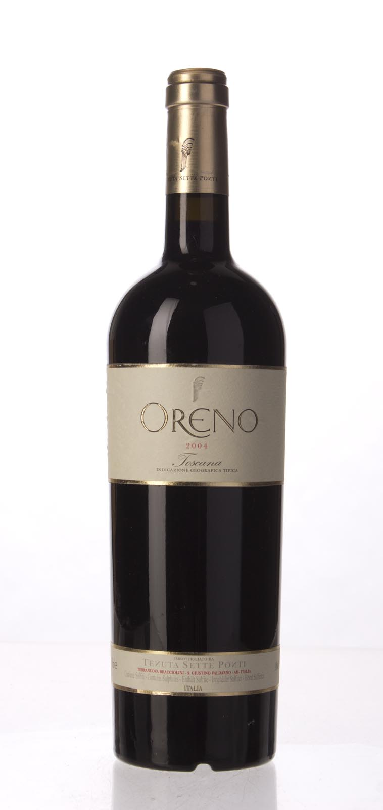 Sette Ponti Oreno 2004, 750mL (WS95) from The BPW - Merchants of rare and fine wines.