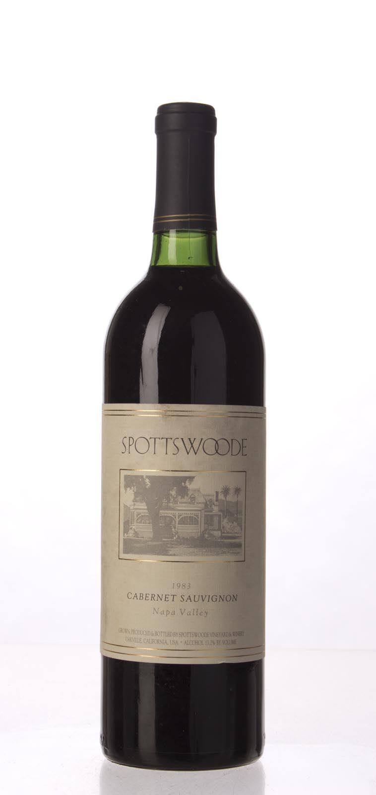 Spottswoode Cabernet Sauvignon Napa Valley 1983, 750mL () from The BPW - Merchants of rare and fine wines.