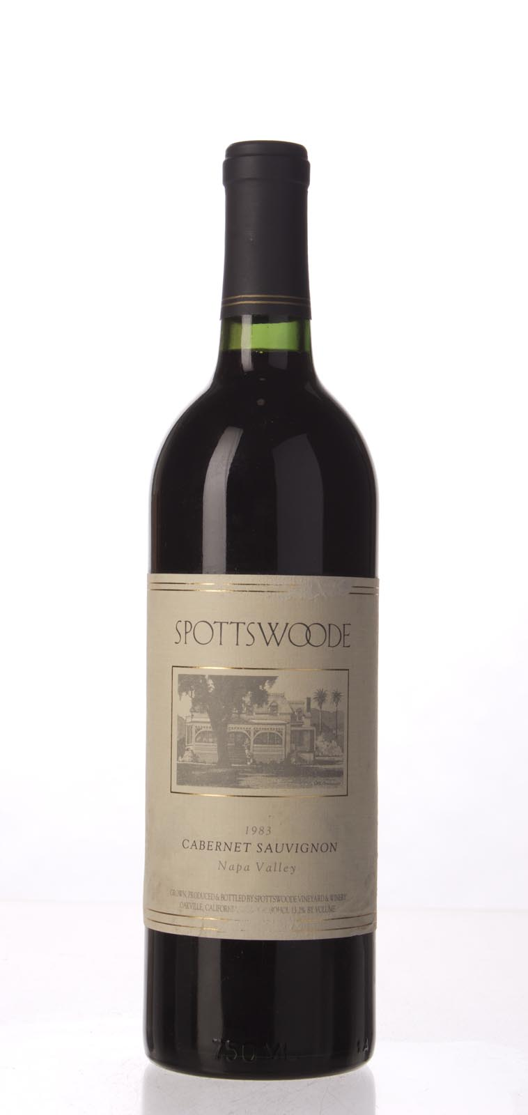 Spottswoode Cabernet Sauvignon Napa Valley 1983,  () from The BPW - Merchants of rare and fine wines.