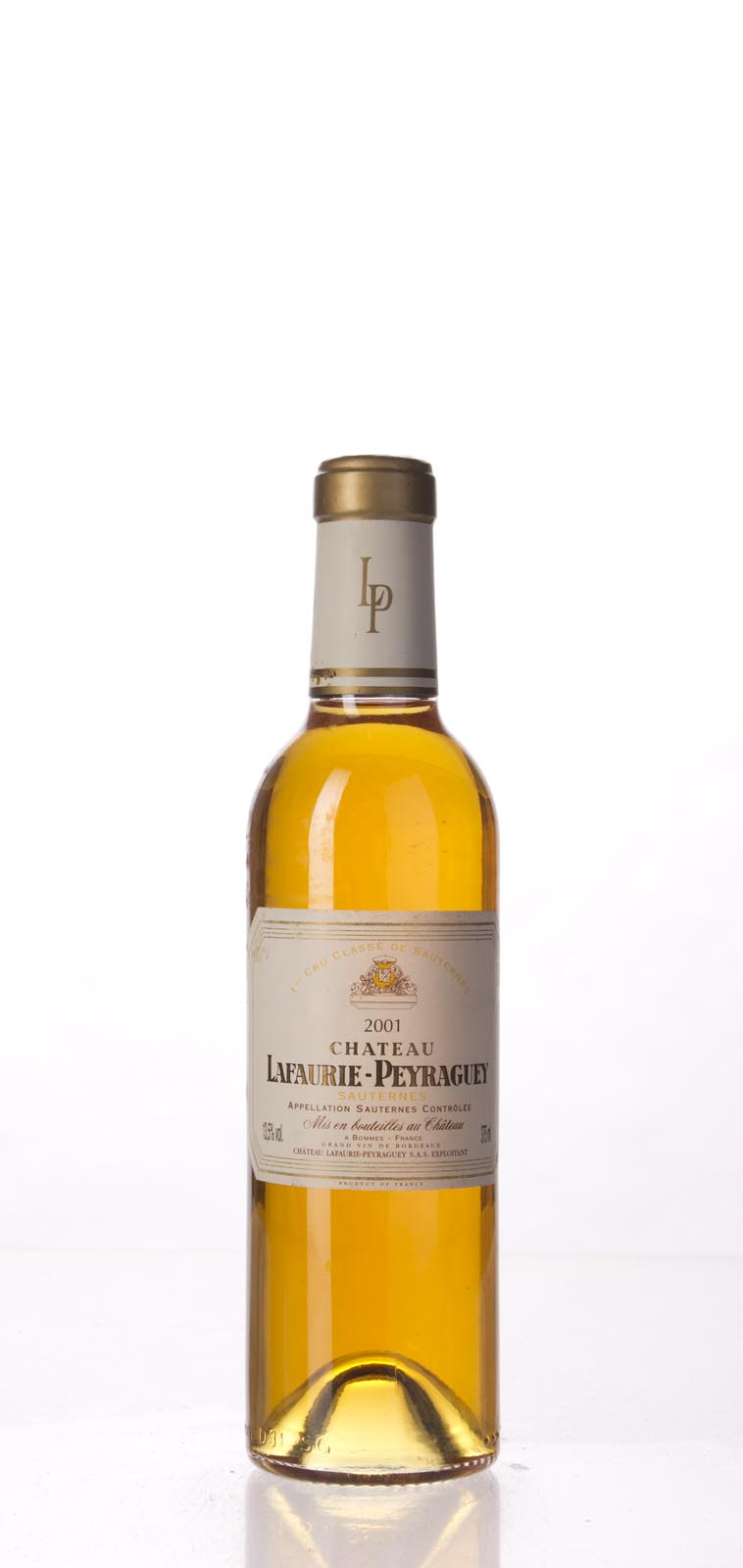 Lafaurie Peyraguey 2001, 375mL (WA96, WS95) from The BPW - Merchants of rare and fine wines.