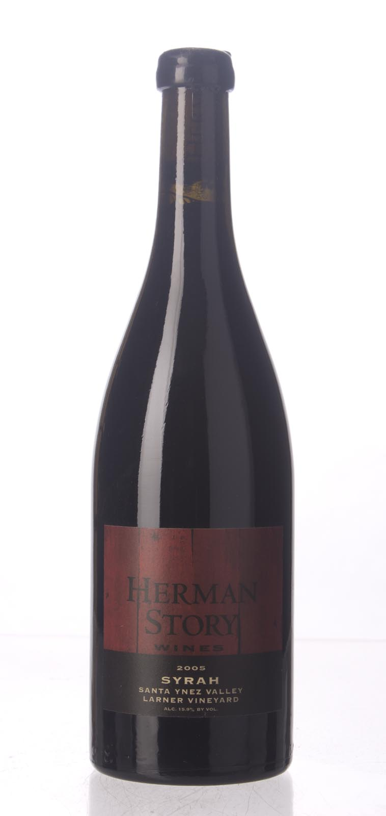 Herman Story Syrah Larner Vineyard 2005, 750mL (WA93, WS92) from The BPW - Merchants of rare and fine wines.