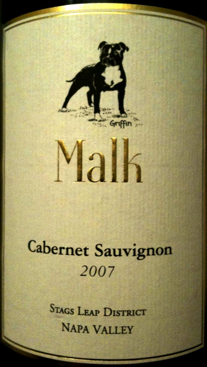 Malk Cabernet Sauvignon Stag`s Leap District 2010,  () from The BPW - Merchants of rare and fine wines.