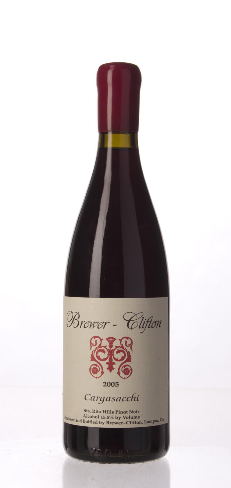 Brewer Clifton Pinot Noir Cargasacchi 2005, 750mL (WA92, ST92) from The BPW - Merchants of rare and fine wines.