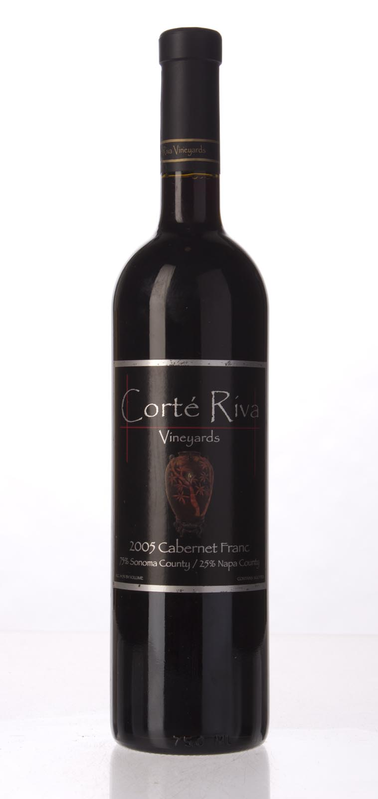 Corte Riva Cabernet Franc Napa Valley 2005, 750mL (WA92) from The BPW - Merchants of rare and fine wines.