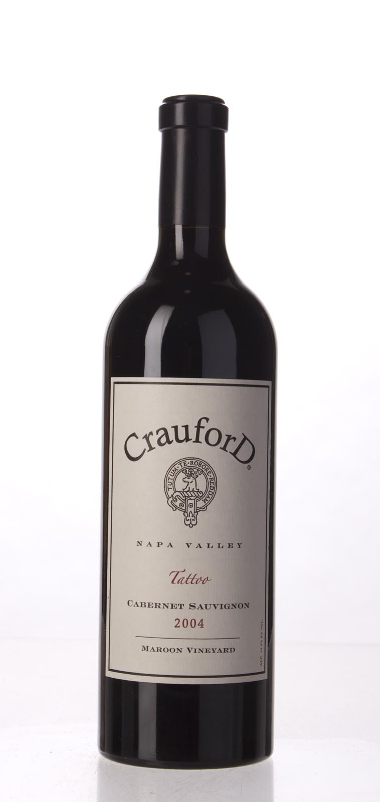 CrauforD Wine Co Cabernet Sauvignon Tatoo Maroon Vineyard 2004, 750mL () from The BPW - Merchants of rare and fine wines.