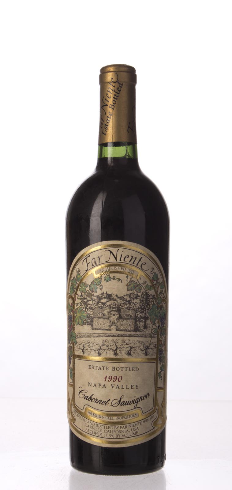 Far Niente Cabernet Sauvignon 1990, 750mL (WA90) from The BPW - Merchants of rare and fine wines.