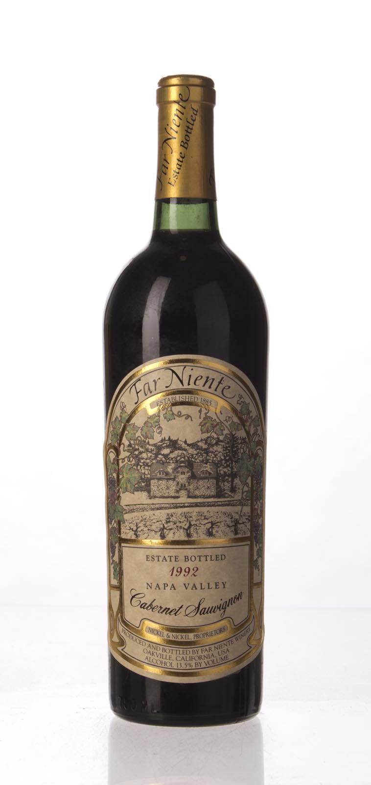 Far Niente Cabernet Sauvignon 1992, 750mL (WS93) from The BPW - Merchants of rare and fine wines.