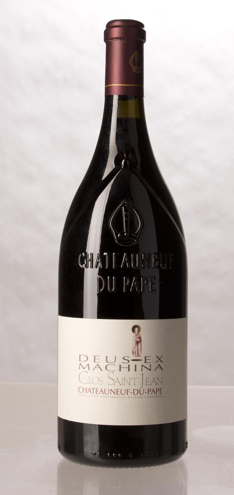 Clos St. Jean Chateauneuf du Pape Deus Ex Machina 2010, 1.5L (WA100) from The BPW - Merchants of rare and fine wines.