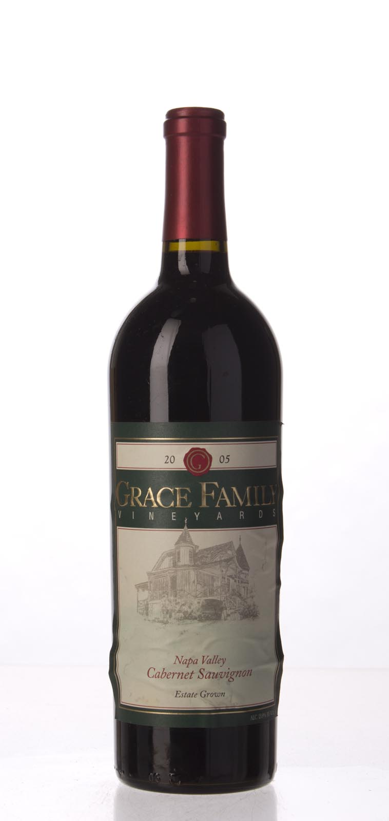 Grace Family Vineyard Cabernet Sauvignon 2005, 750mL (ST93) from The BPW - Merchants of rare and fine wines.