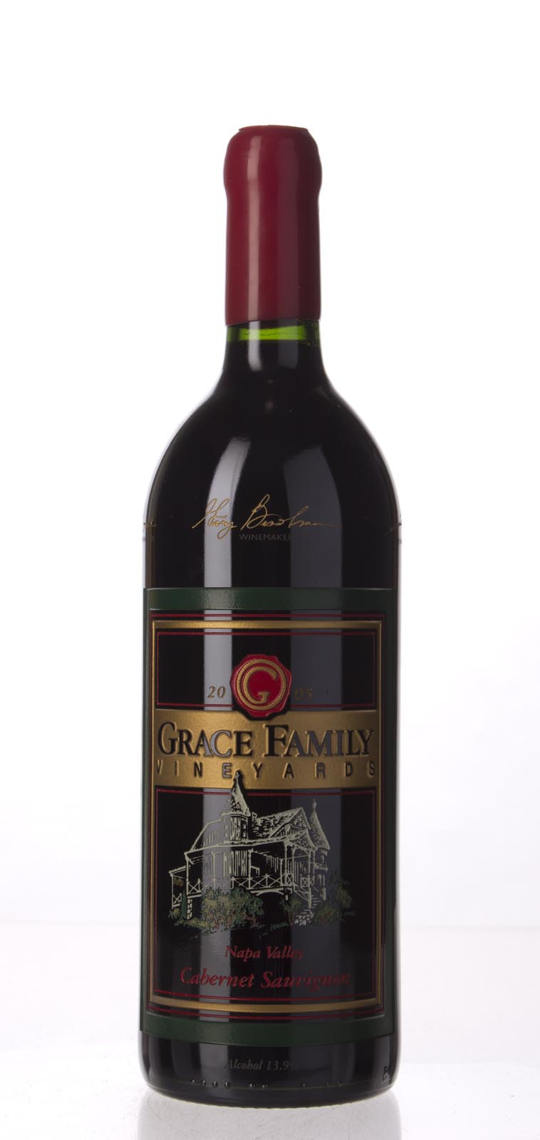 Grace Family Vineyard Cabernet Sauvignon 2005, 1L (ST93) from The BPW - Merchants of rare and fine wines.