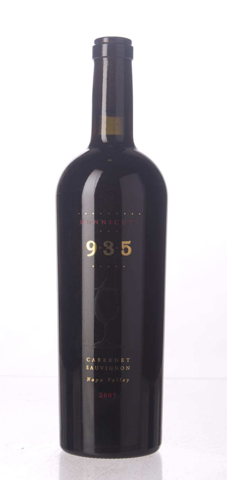 Hunnicut Cabernet Sauvignon 9-3-5 2005, 750mL () from The BPW - Merchants of rare and fine wines.