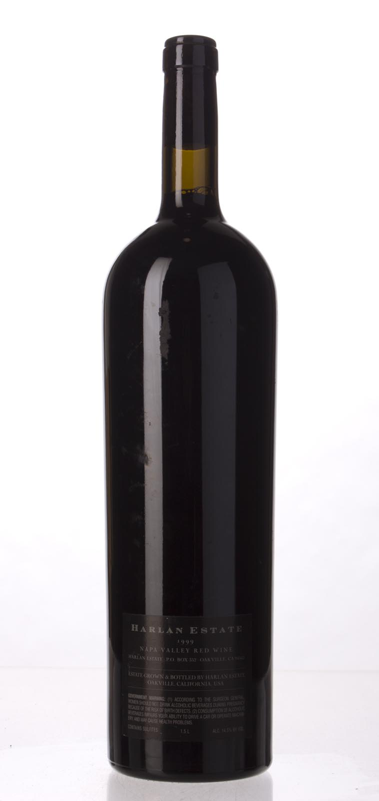 Harlan Estate Proprietary Red 1999, 1.5L (ST96, WS97) from The BPW - Merchants of rare and fine wines.