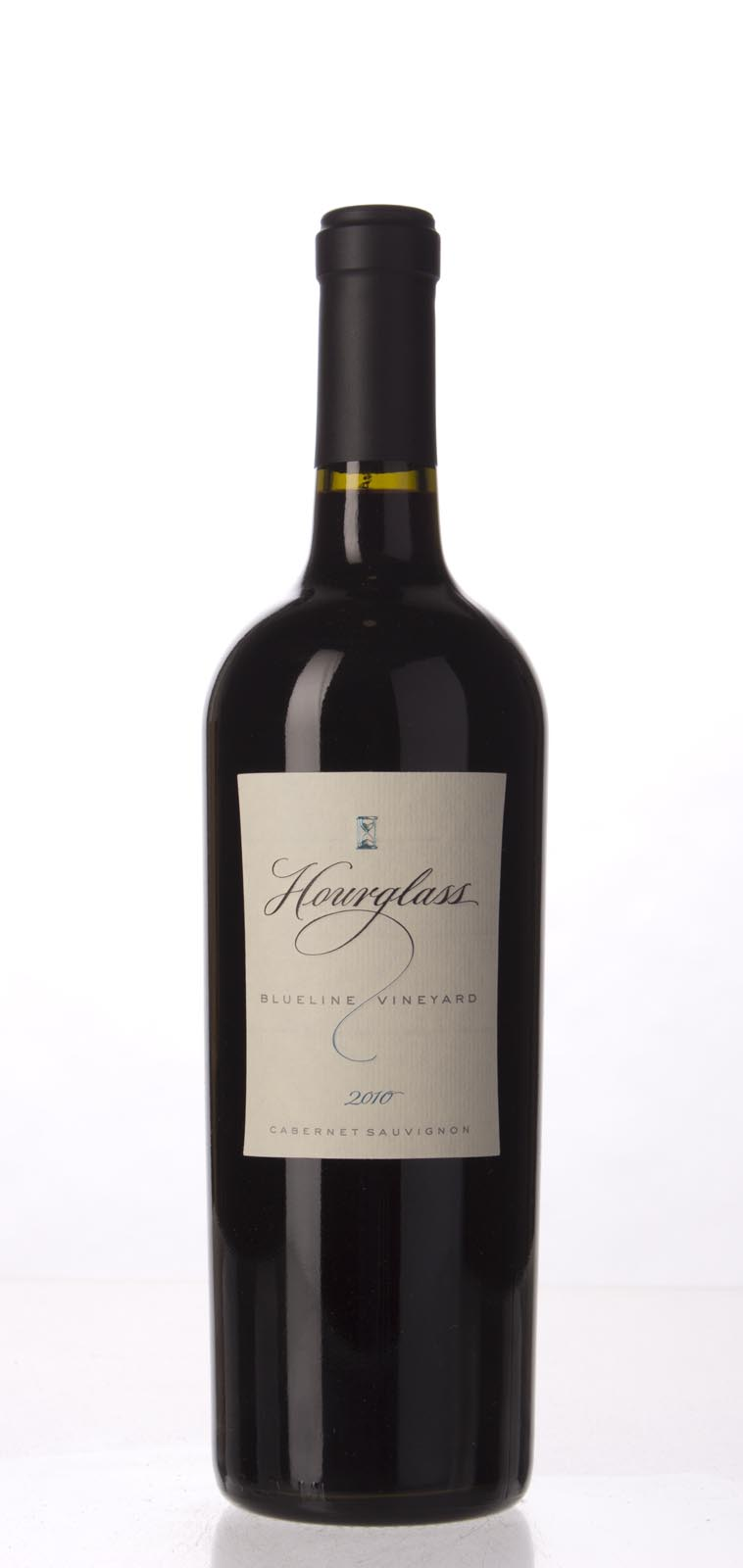 Hourglass Cabernet Sauvignon Blueline Vineyard 2010, 750mL (WS90) from The BPW - Merchants of rare and fine wines.