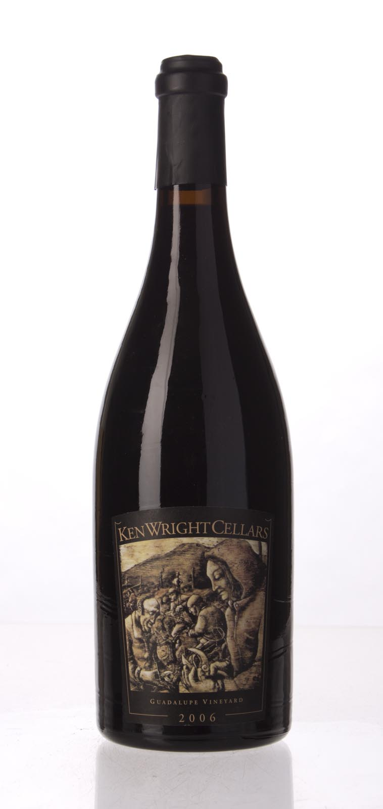 Ken Wright Cellars Pinot Noir Guadalupe Vineyard 2006, 750mL (WA91, ST90) from The BPW - Merchants of rare and fine wines.