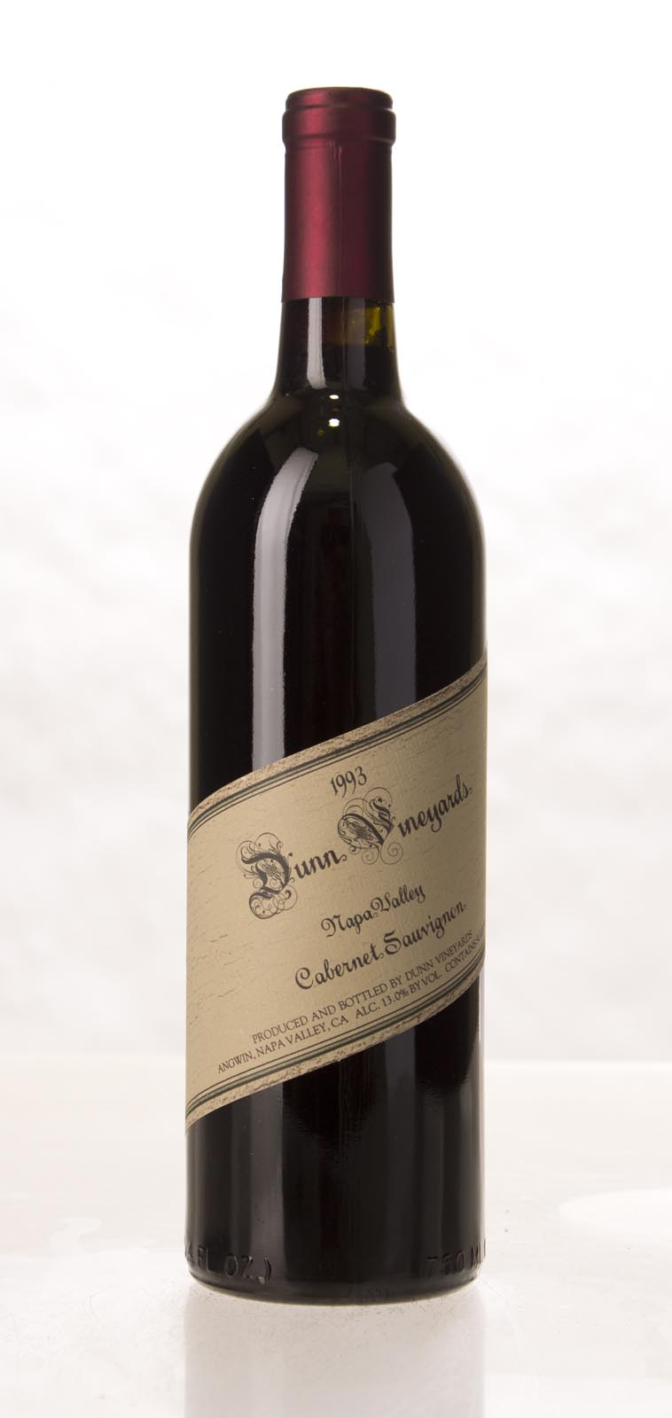 Dunn Cabernet Sauvignon Napa Valley 1993, 750mL (WA93) from The BPW - Merchants of rare and fine wines.