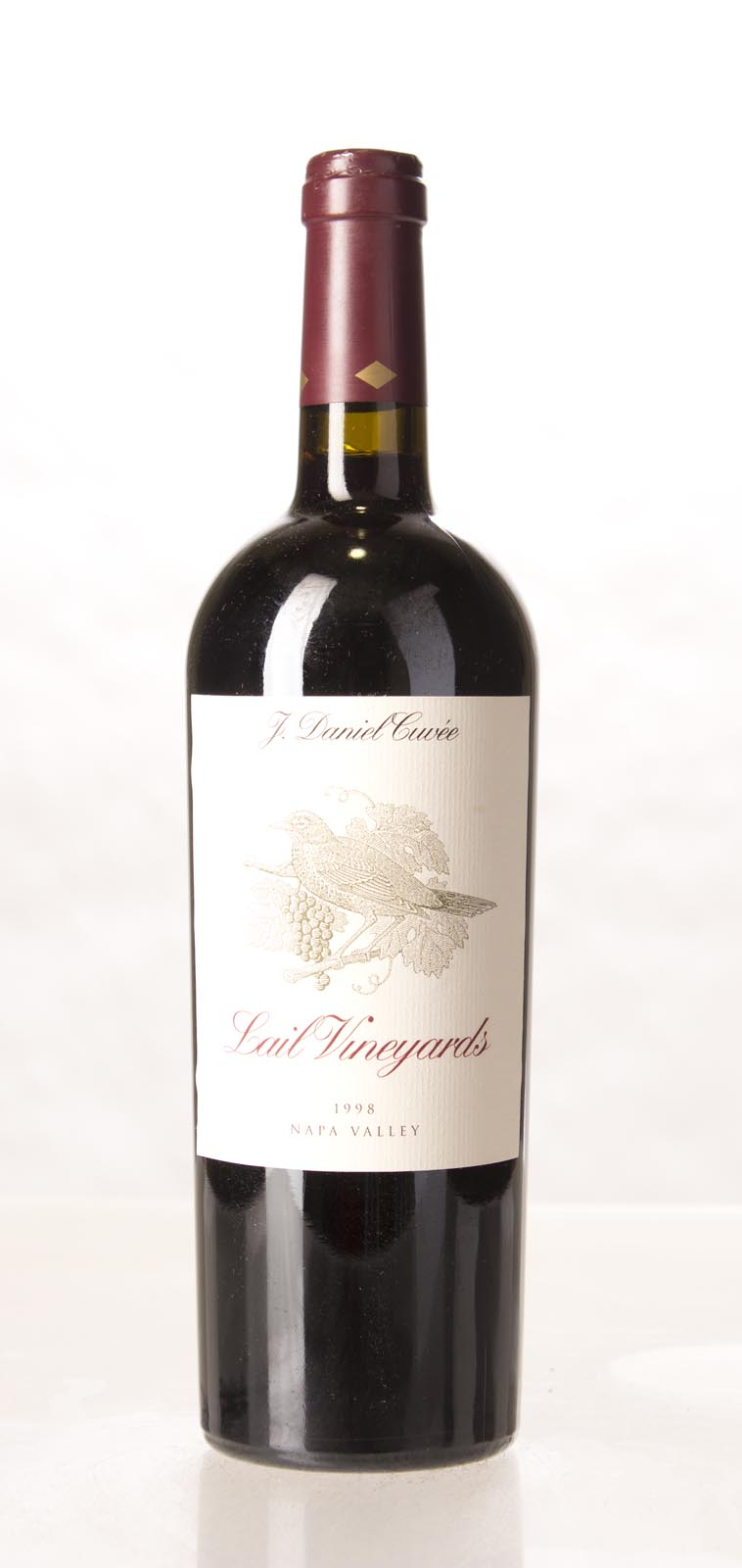 Lail Vineyards Proprietary Red J. Daniel Cuvee 1998,  (WA89) from The BPW - Merchants of rare and fine wines.
