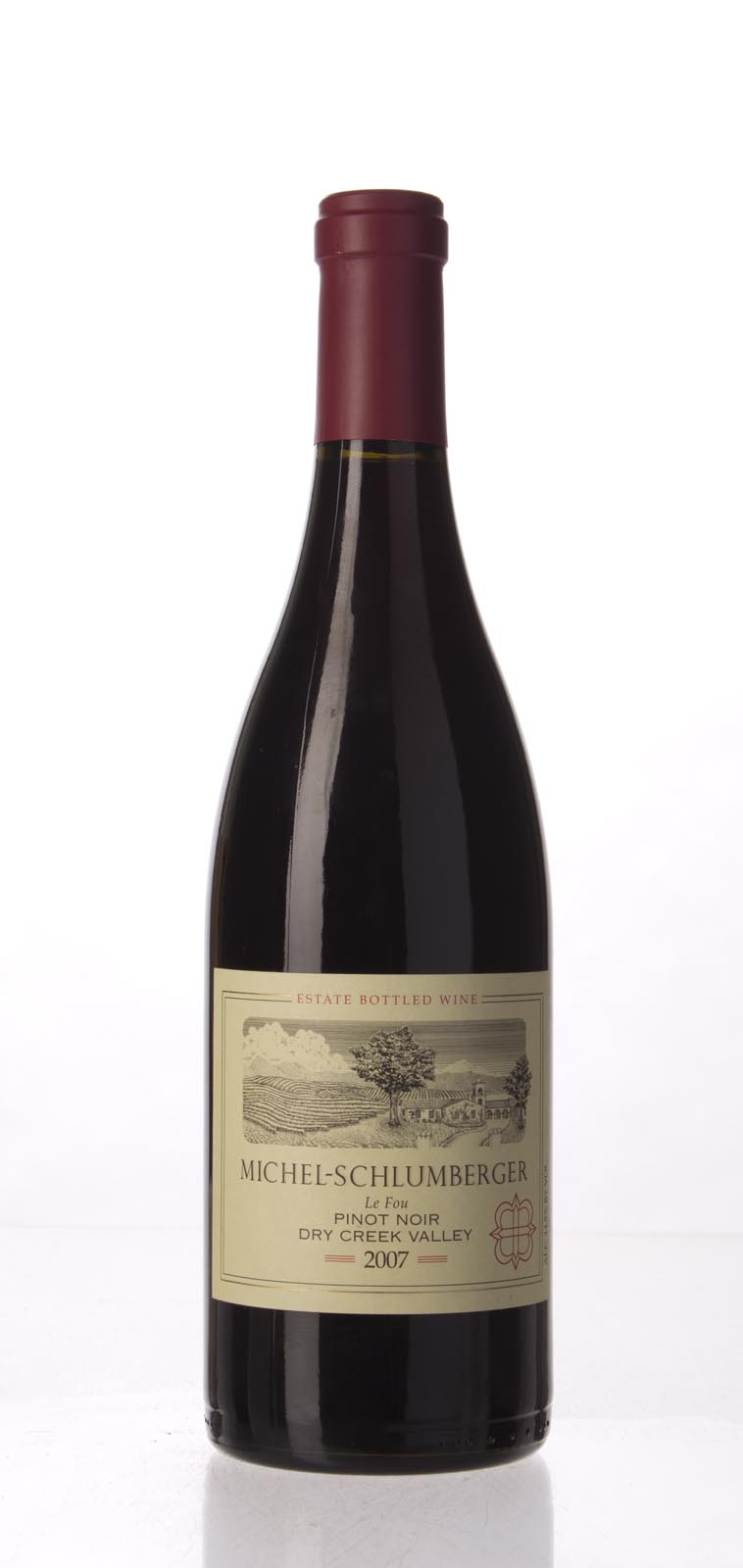 Michel Schlumberger Pinot Noir Dry Creek Valley 2007, 750mL () from The BPW - Merchants of rare and fine wines.