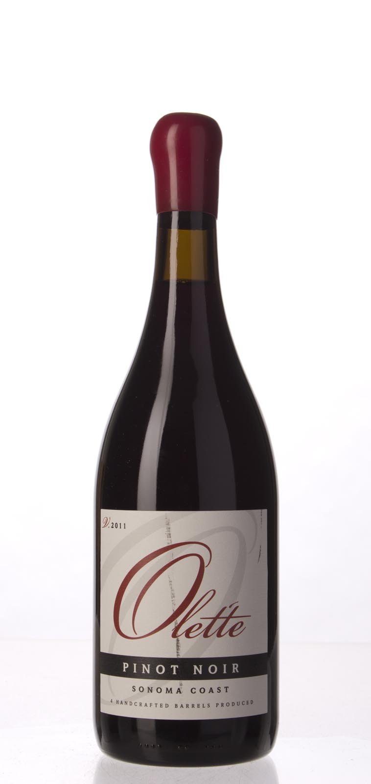 Olette Pinot Noir Sonoma Coast 2011,  () from The BPW - Merchants of rare and fine wines.
