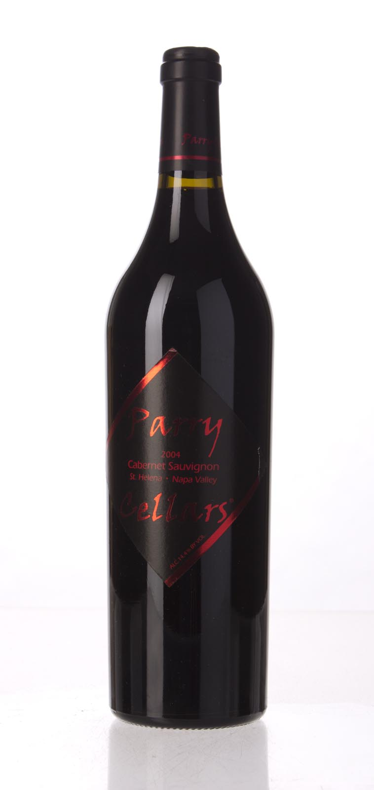Parry Cellars Cabernet Sauvignon Saint Helena 2004, 750mL () from The BPW - Merchants of rare and fine wines.