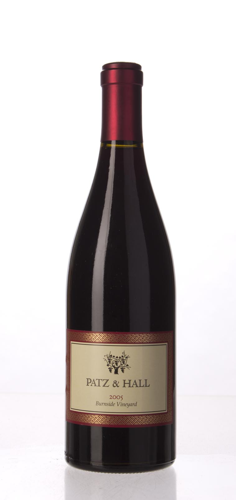 Patz & Hall Pinot Noir Burnside Vineyard 2005, 750mL (ST91) from The BPW - Merchants of rare and fine wines.