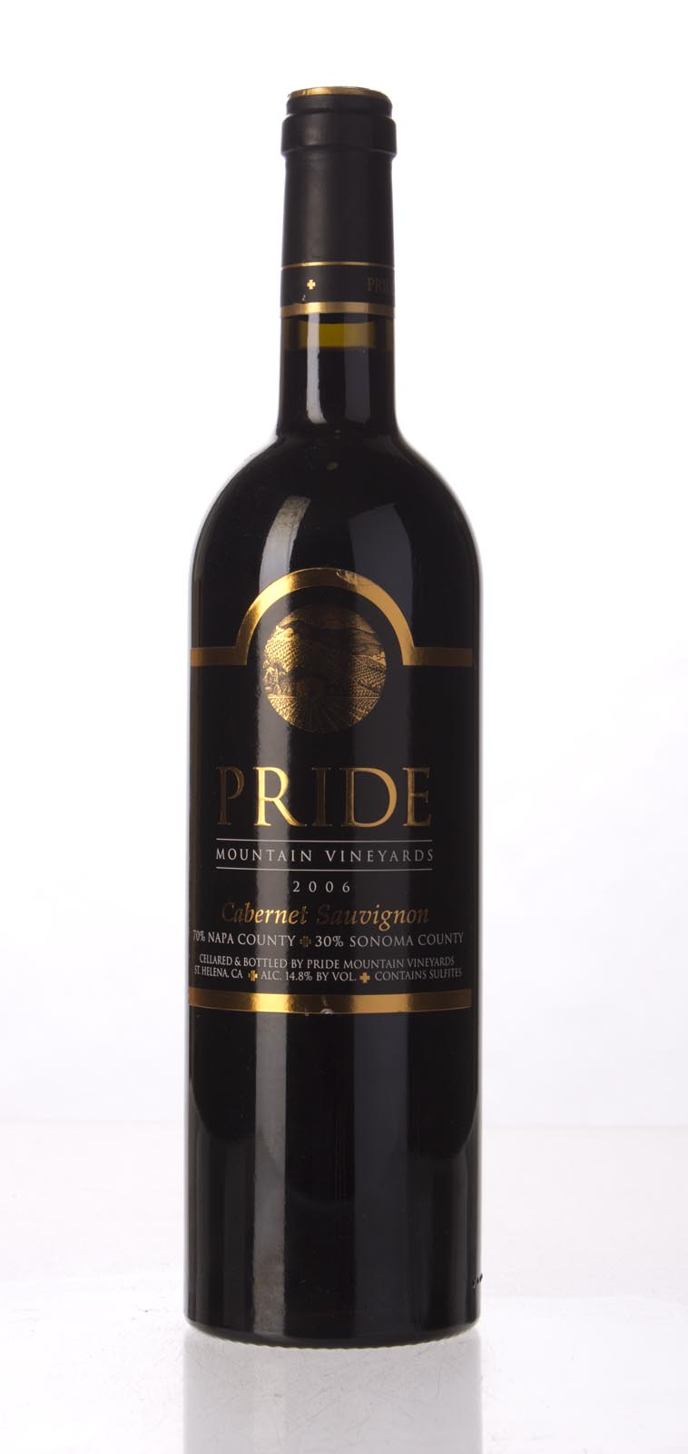 Pride Mountain Vineyards Cabernet Sauvignon 2006,  (WA90) from The BPW - Merchants of rare and fine wines.