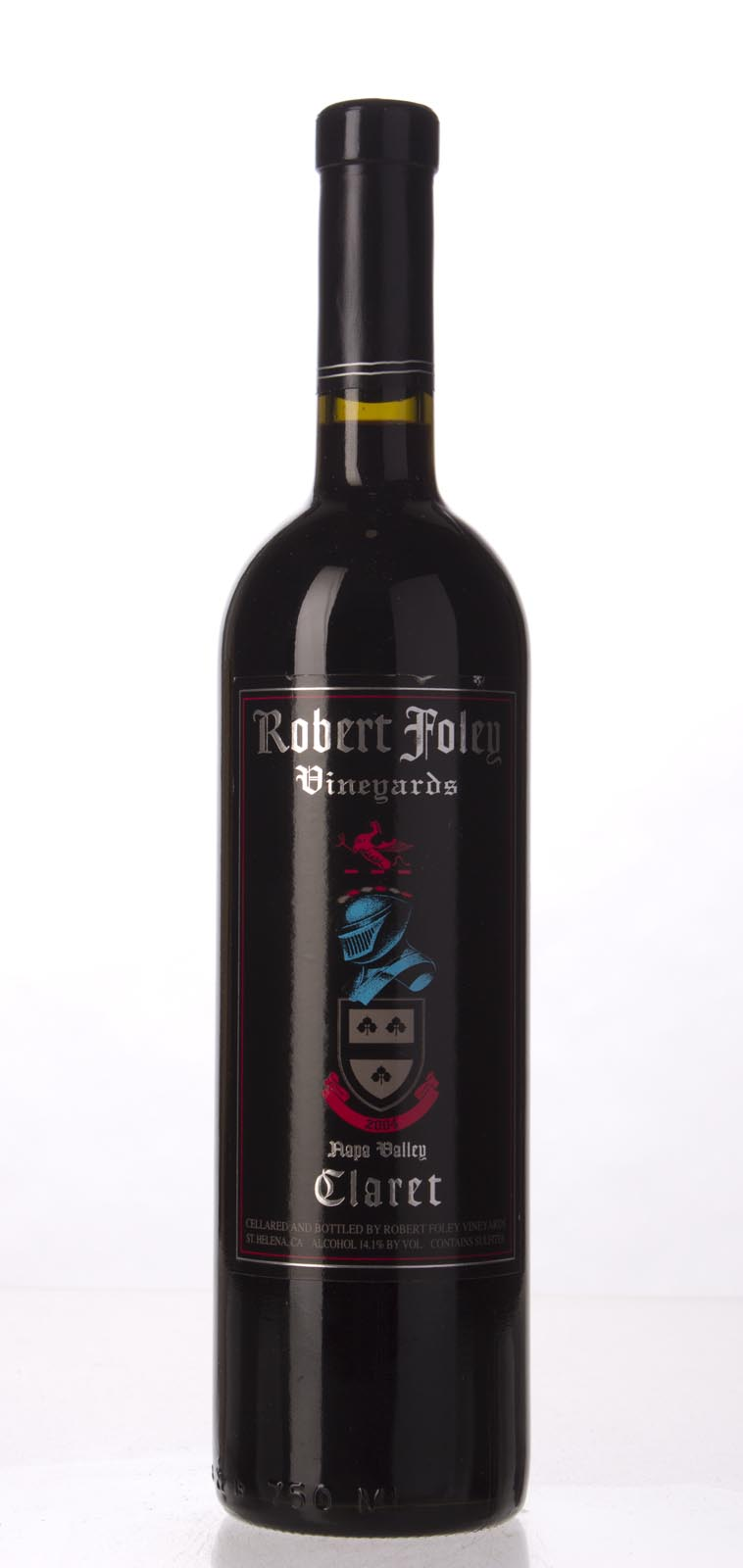 Robert Foley Vineyards Claret 2004, 750mL (WA95) from The BPW - Merchants of rare and fine wines.