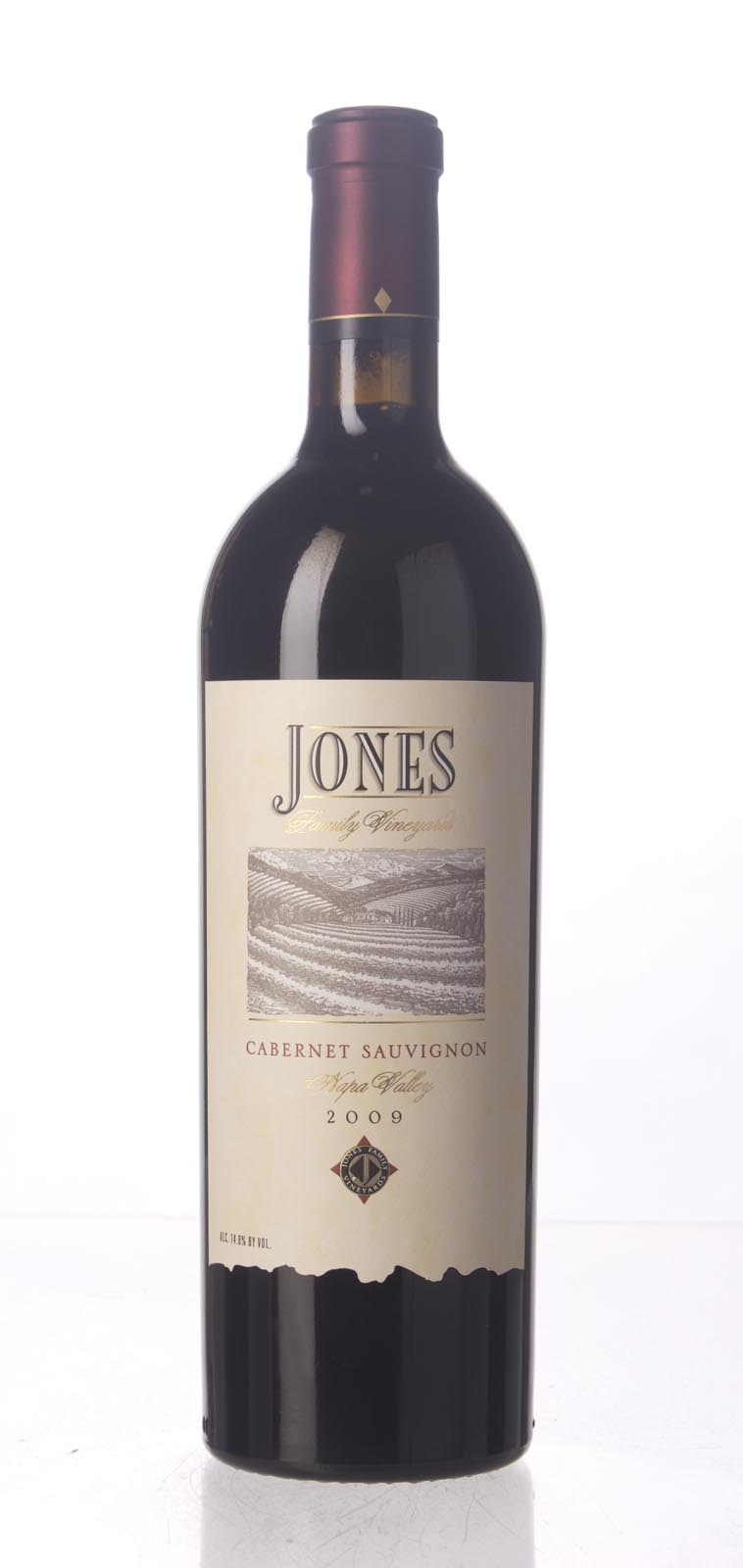 Jones Family Vineyard Cabernet Sauvignon Napa Valley 2009, 750mL (WA92, ST92) from The BPW - Merchants of rare and fine wines.